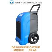 Déshumidificateur mobile professionnel multifonction FD65